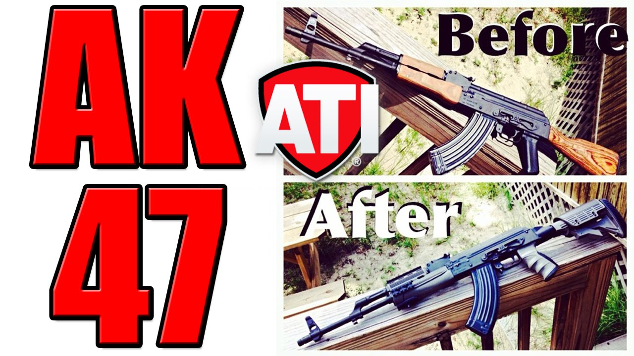 WASR 10 AK47 Destroyer Grey Strikeforce Elite Stock Package Install