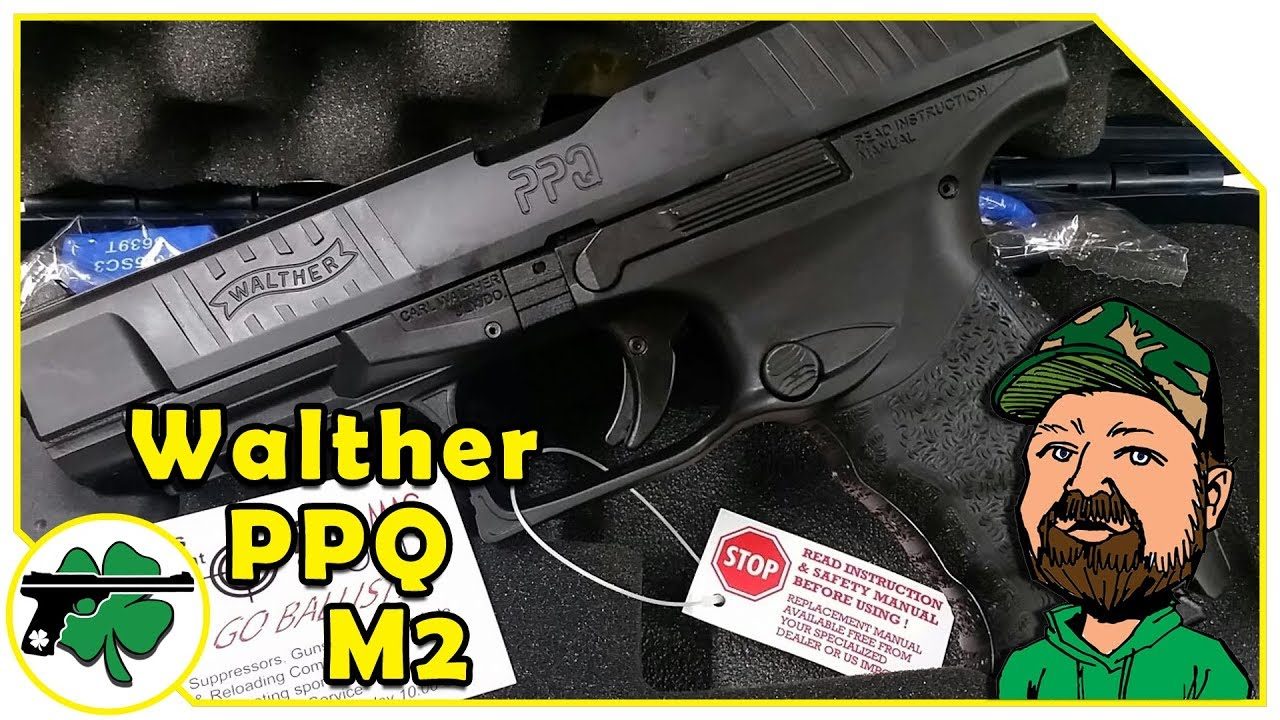 Picking Up My New Walther PPQ M2 5