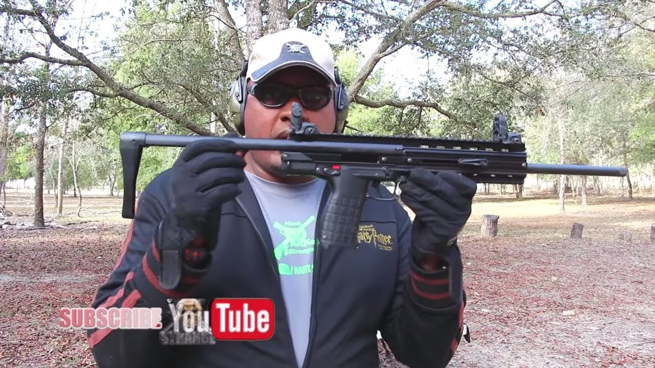 CMR-30 Rifle First Review on Hank Strange Hacienda
