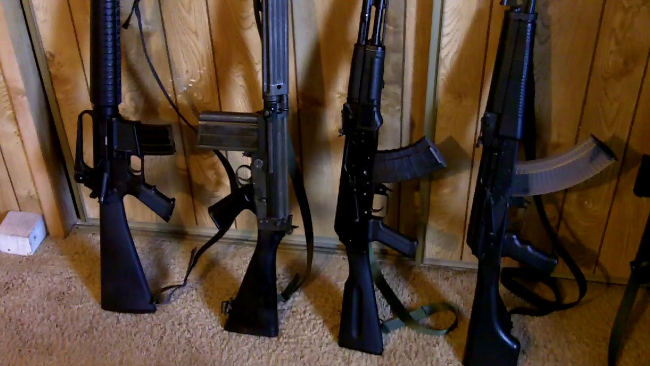 Some Semi-Auto Sporting Rifles