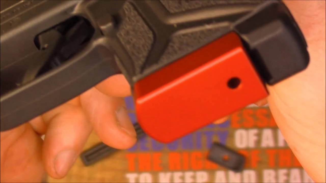 Ruger LCP II Magazine Base Plate Upgrade by NDZ Performance