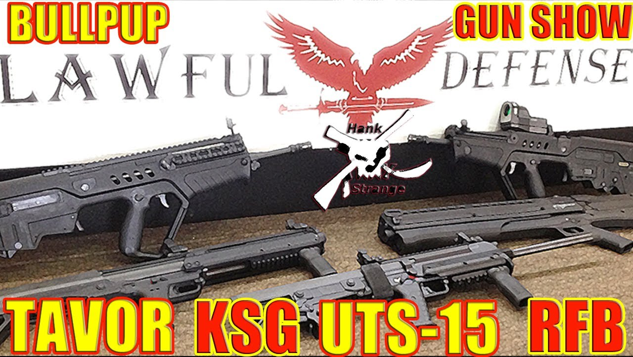 In the Gun Shop of Lawful Defense Guns & Transfers Bullpup Gun Show
