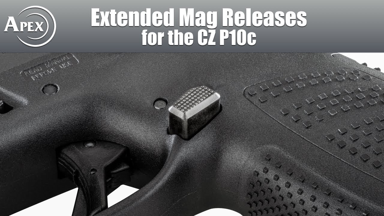 Apex's Extended Mag Releases for the CZ P10c