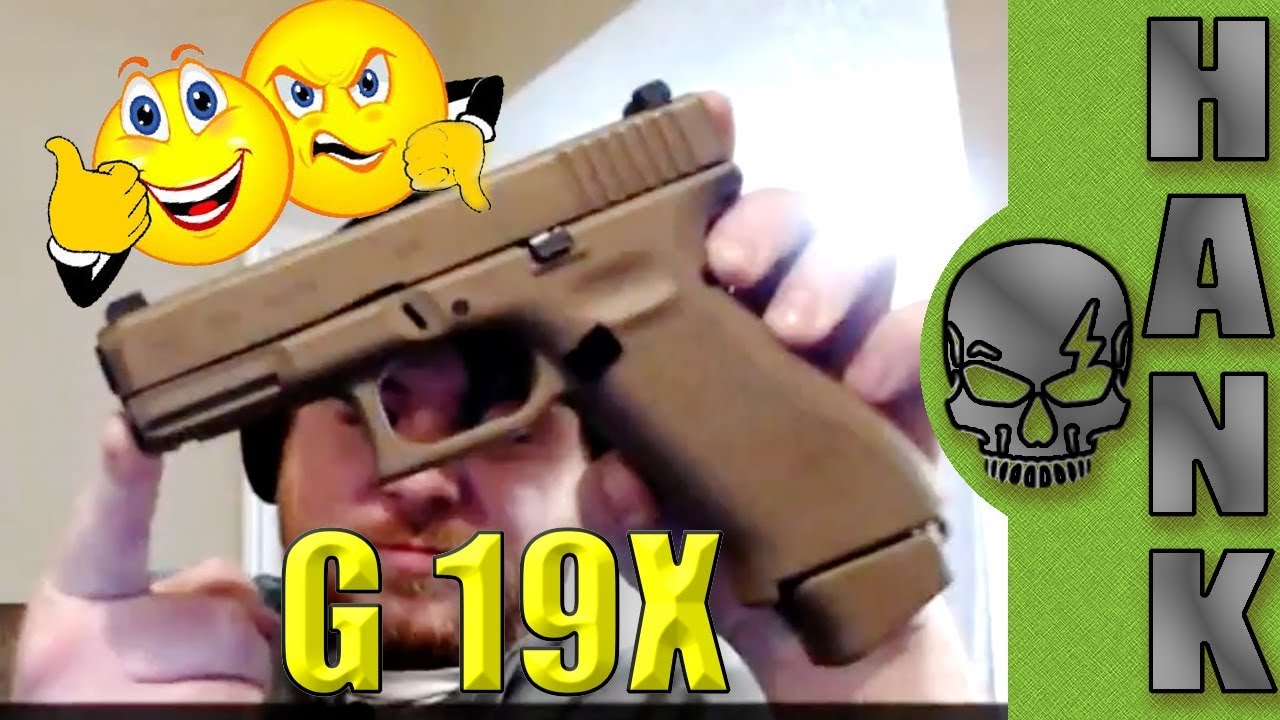 New 2018 Glock 19X & Gen 5 G26 G34 MOS with Patrick from the Firearm Rack