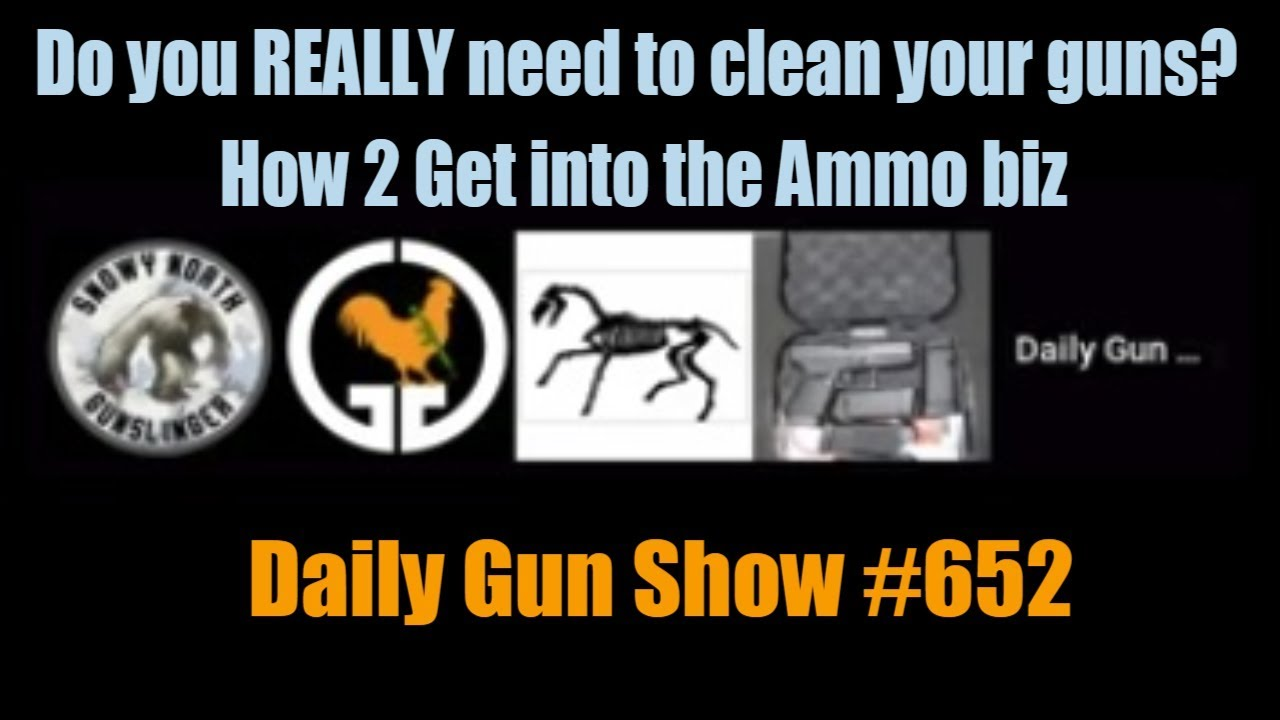 Do you REALLY need to clean your guns? - How 2 Get into the Ammo biz -