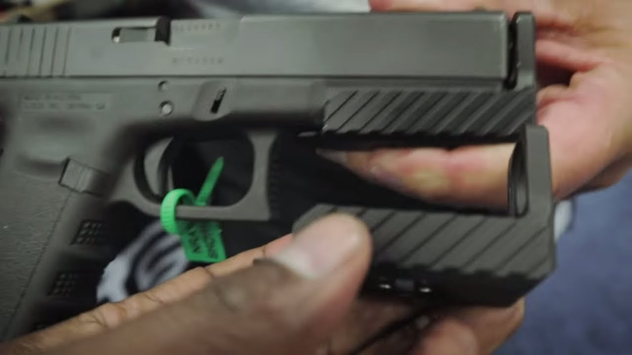 DTF Industries SAFE Space Device for Glock NRA 2018