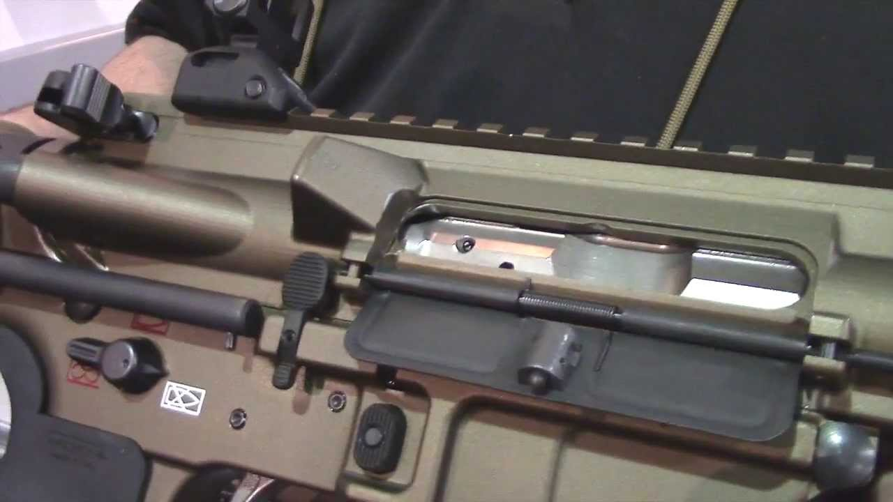 LWRC International M6 Individual Carbine PDW R.E.P.R. Shot Show 2014