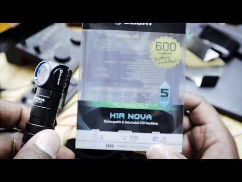 Olight H1R Nova Rechargeable EDC Headlamp Flashlight
