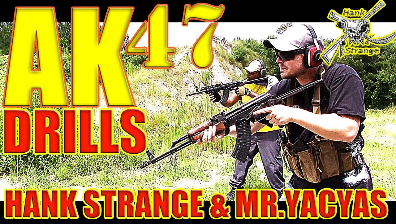 AK 47 Rifle Shooting Drills on The Range Steel Plate Shootout Part 1