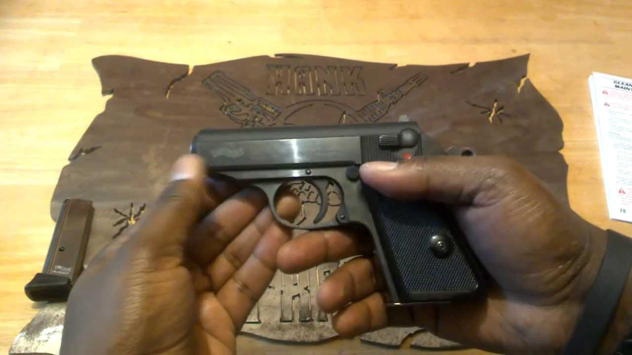 Walther PPK .380 ACP Pocket Pistol EDC Takedown and Reassembly