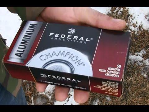 Federal Aluminum Ammunition?
