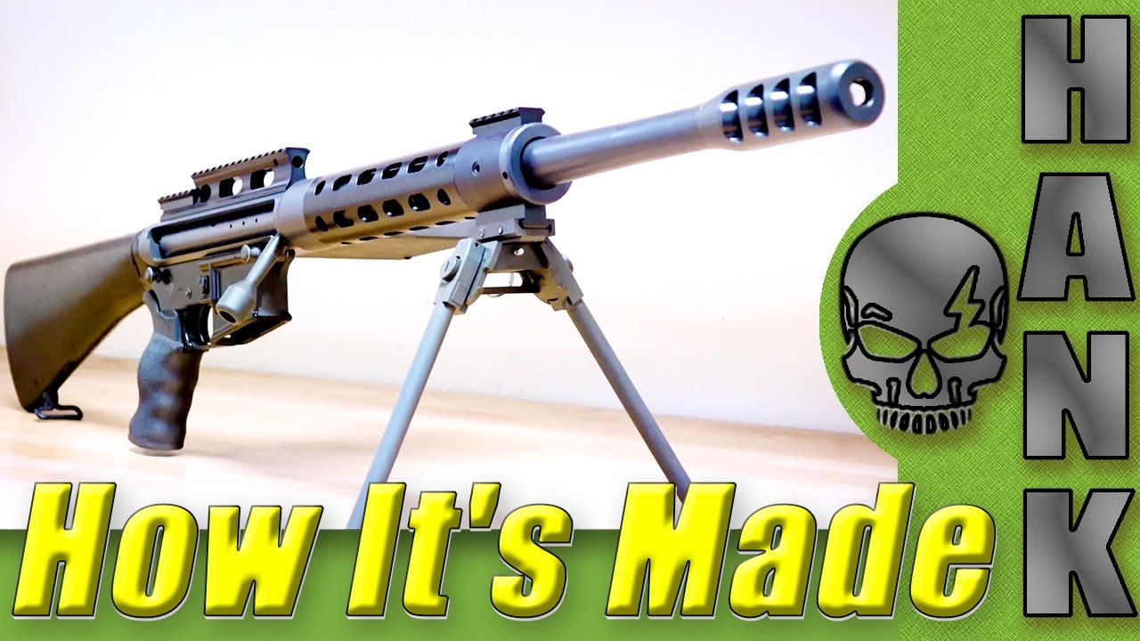 How It's Made SHTF 50 BMG Rifle