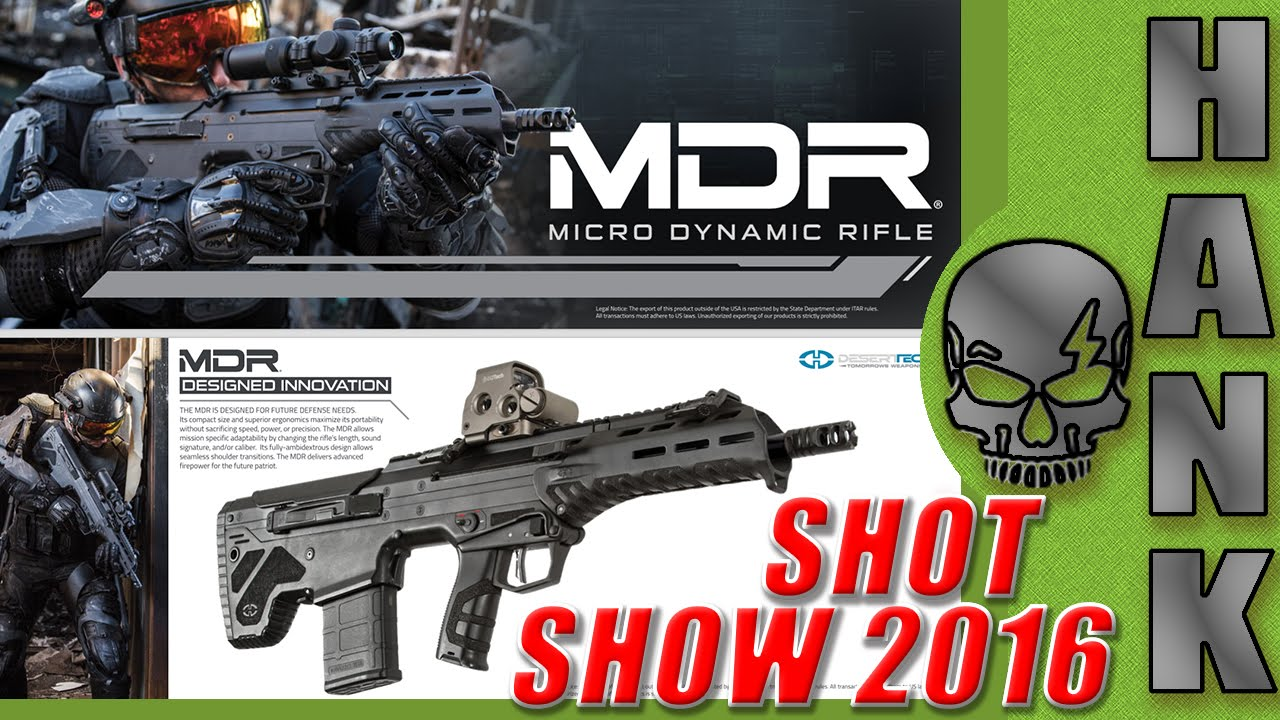 Desert Tech MDR Updates SHOT Show 2016