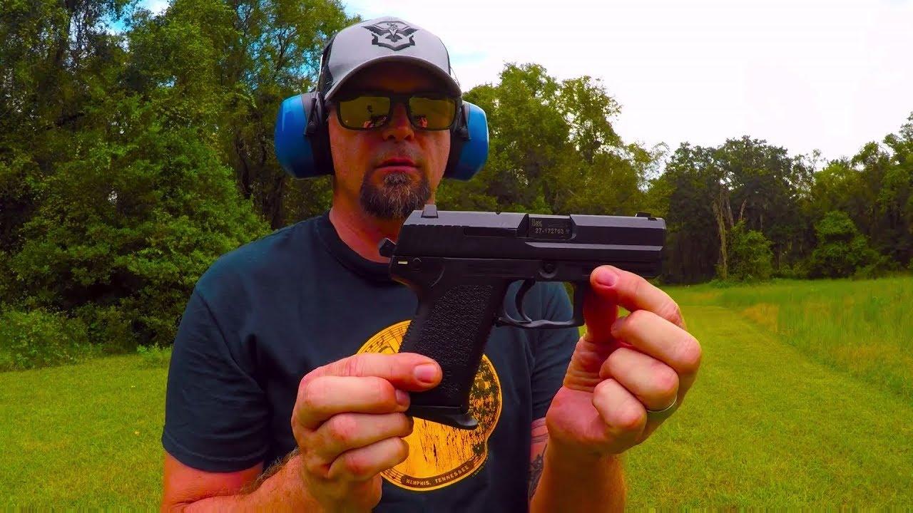 Hk USP 9mm vs CZ P09 9mm