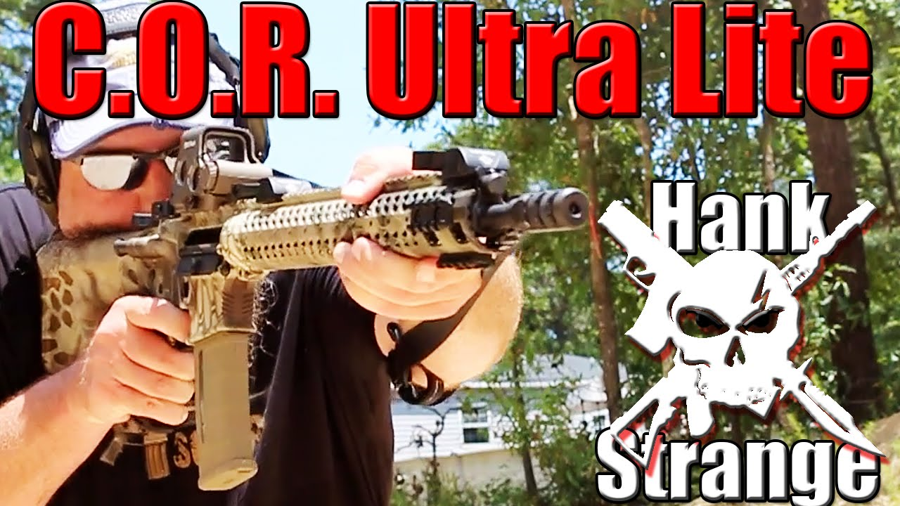 Adams Arms AR-15 C.O.R. Ultra Lite Rifle First Shots Review