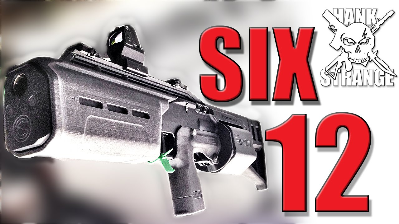 Six12 Modular Shotgun Update SHOT Show 2015