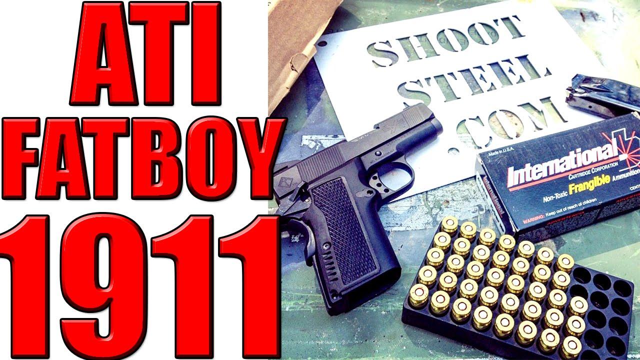 FatBoy 1911 First Shots