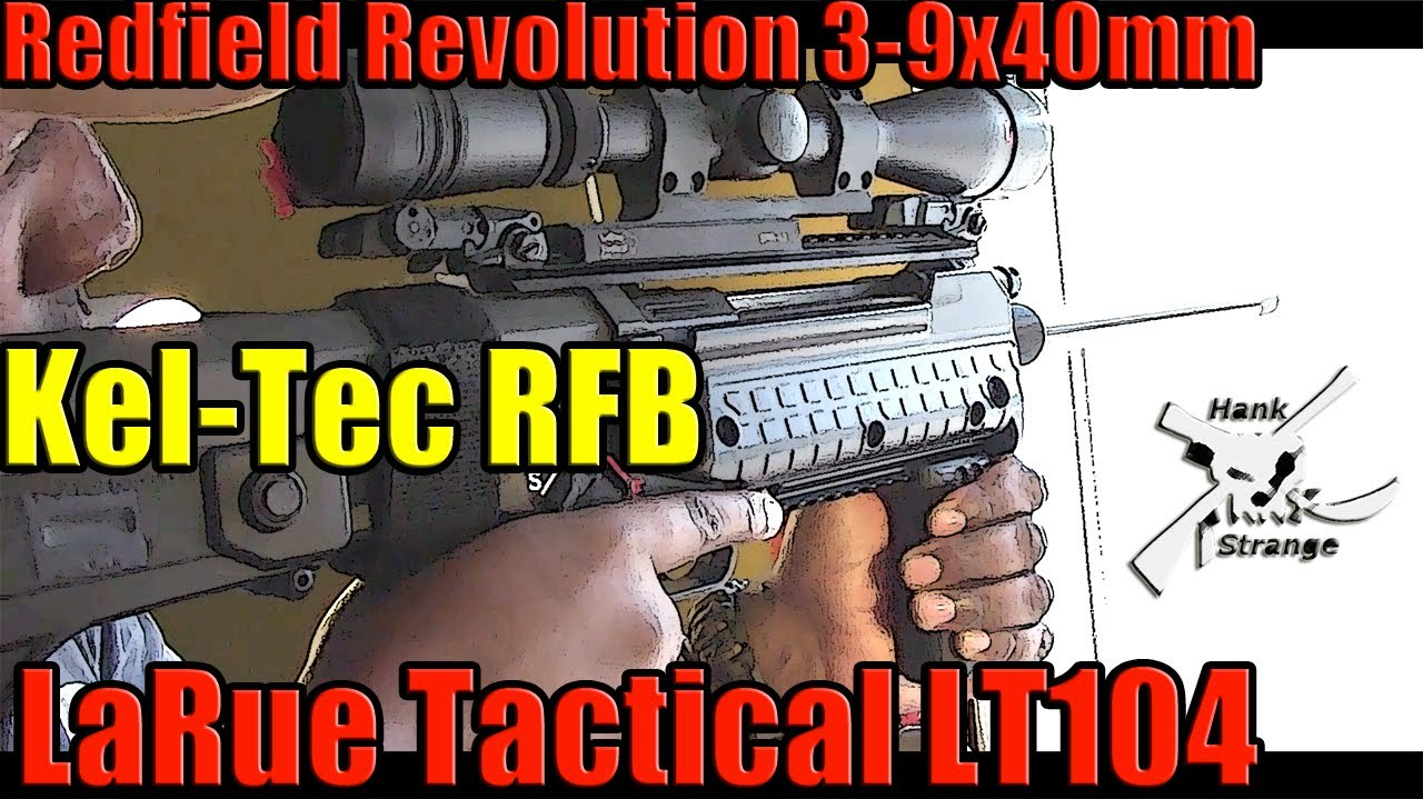 How to Install LaRue LT104 Rifle Scope Mount Kel-Tec RFB 24