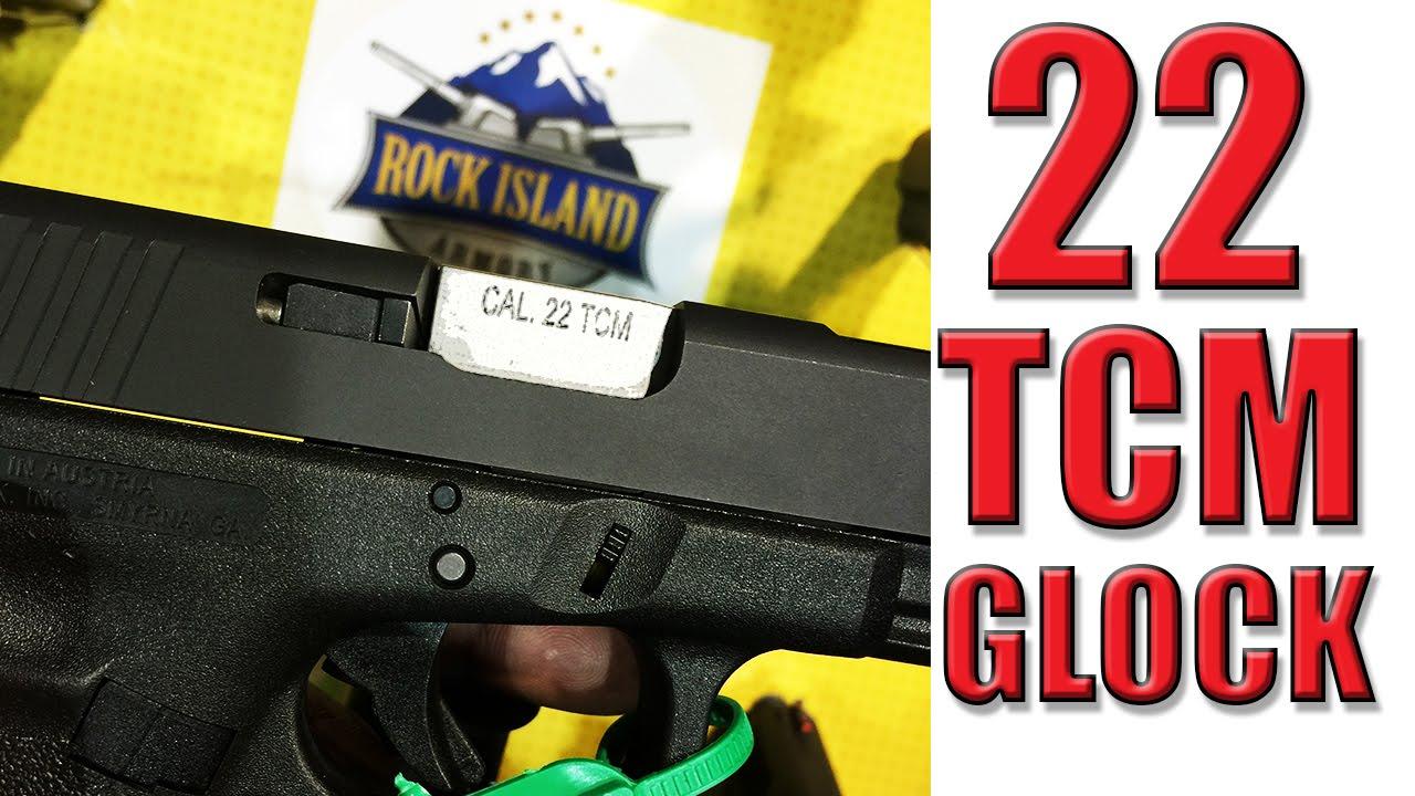 22 TCM Glock Slide Rock Island Armory SHOT SHOW 2015