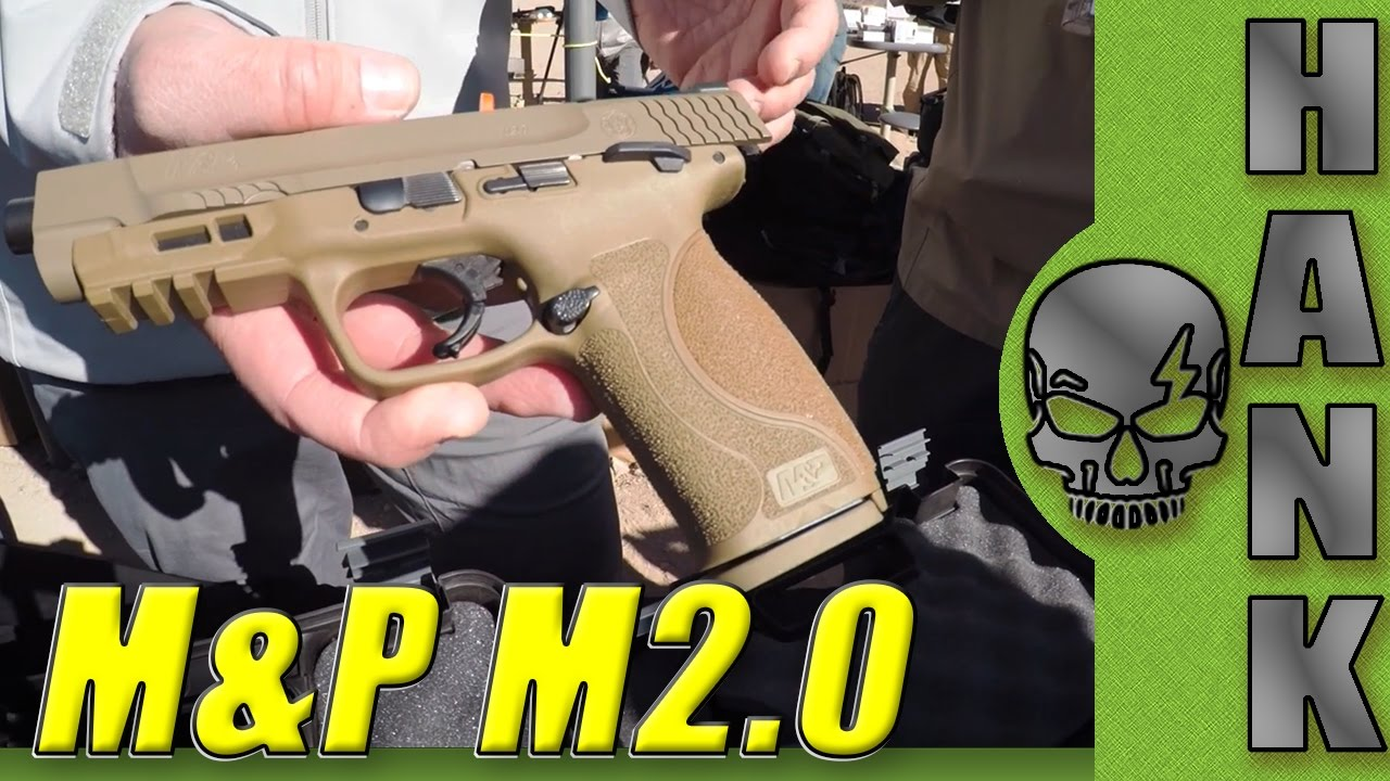 M&P M2.0 Smith & Wesson  SHOT show 2017