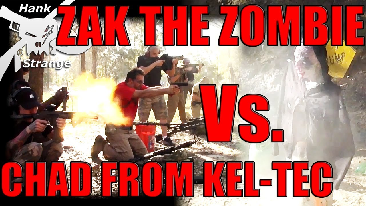 Zak The Zombie Vs. Kel Tec Guys On The Hacienda Shootout with Tannerite Part One
