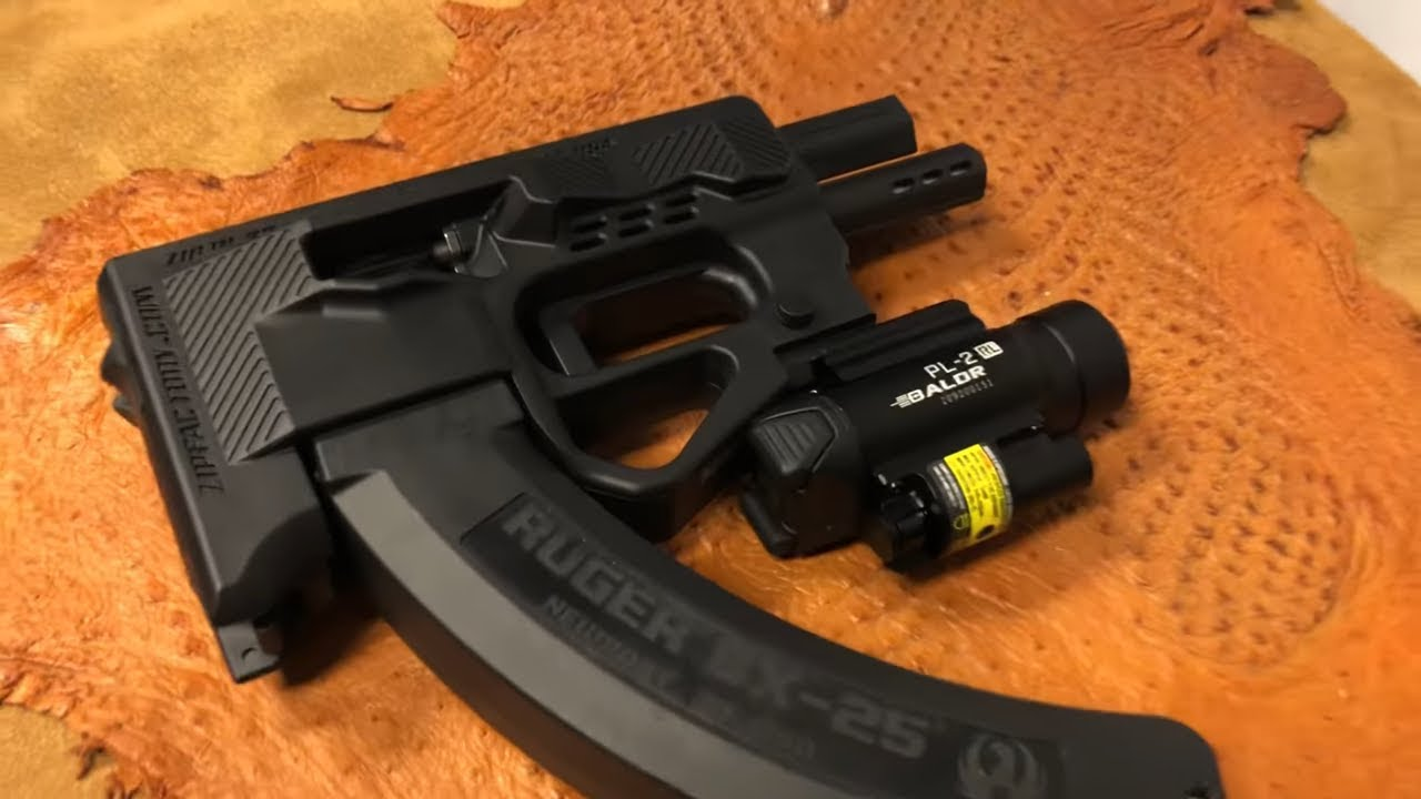 Tactical Ninja: Zip 22 Bullpup with Olight PL-2RL BALDR *FLASH SALE