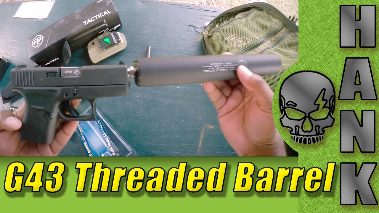 ATI Glock 43 Threaded Barrel Upgrade