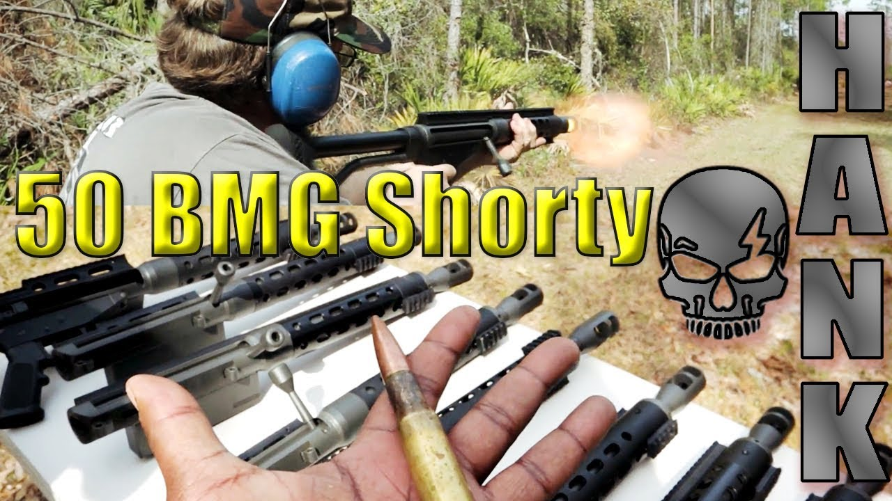 Safety Harbor Firearms SHTF 12 Inch 50 BMG Shorty