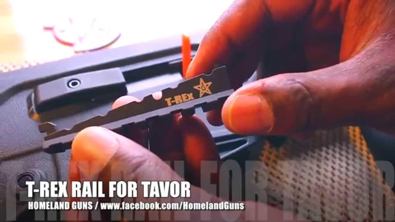 T-Rex Tavor Forearm Rail UpGrade Install