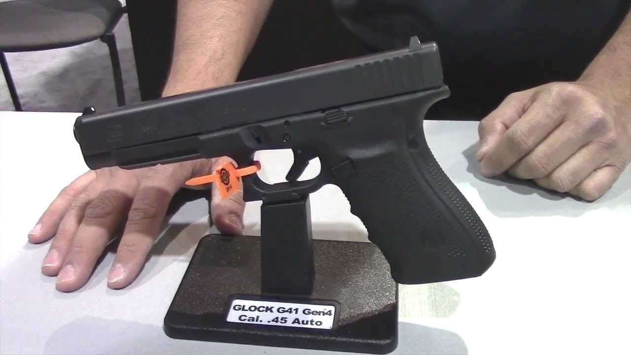 Glock Booth Preview G41 & G42 Pistols Shot Show 2014 with Hank Strange