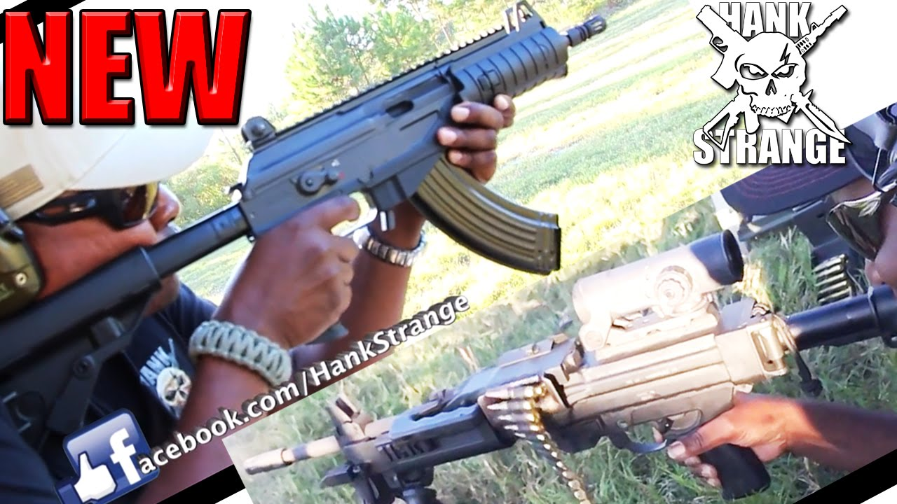 New : Negev Light Machine Gun & Galil Rifles