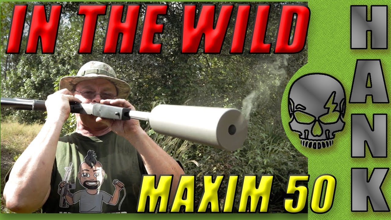 SilencerCo Maxim 50 In The Wild: Off Grid Gun?