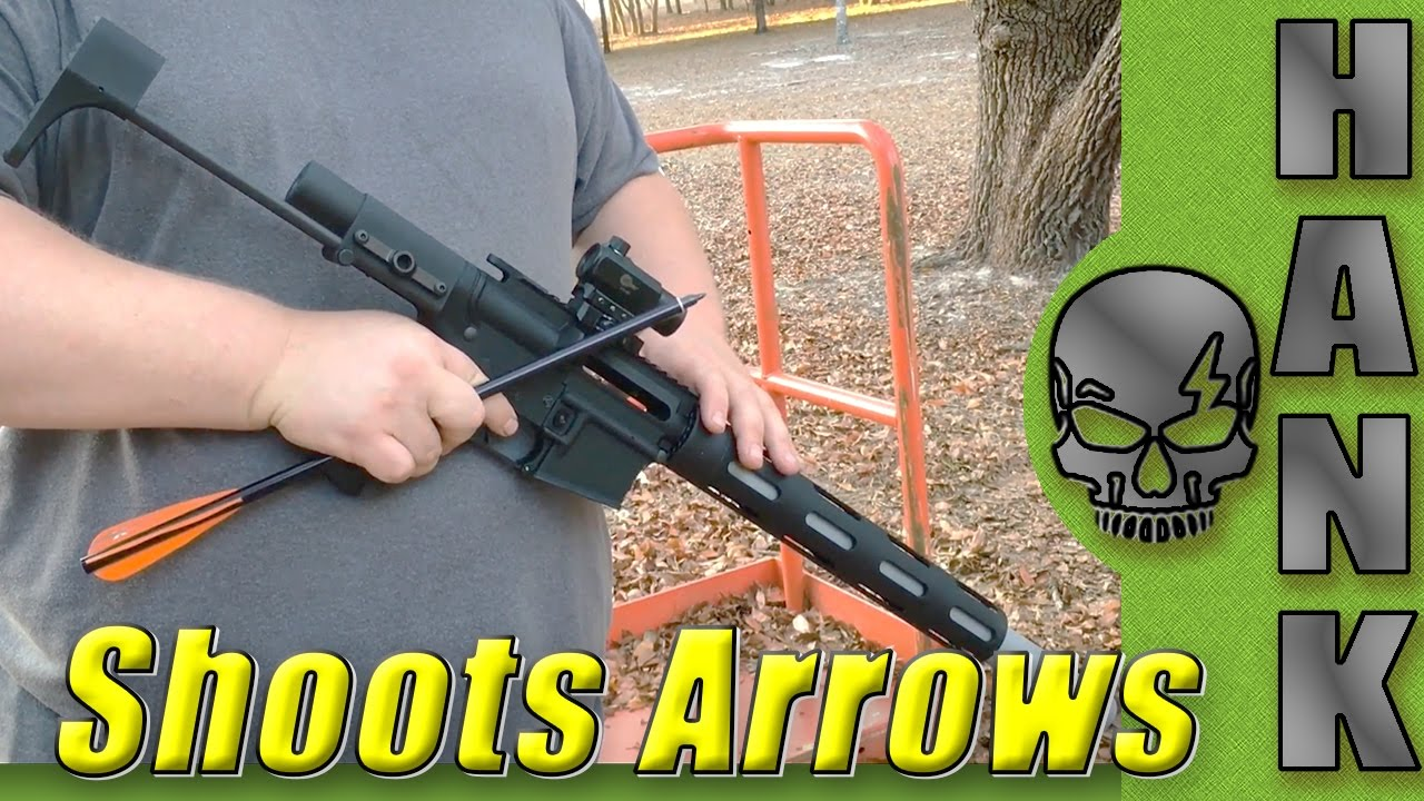 AR-15 Shoots Arrows