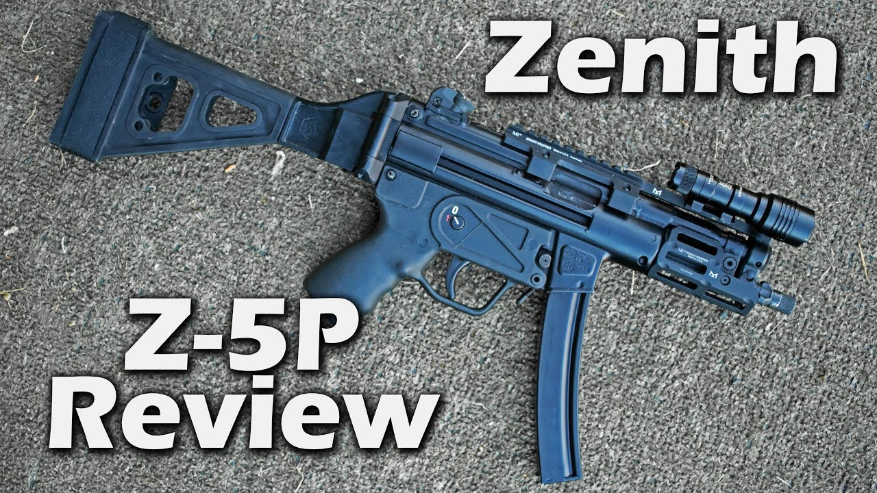 Z-5P Review - Zenith MP5K