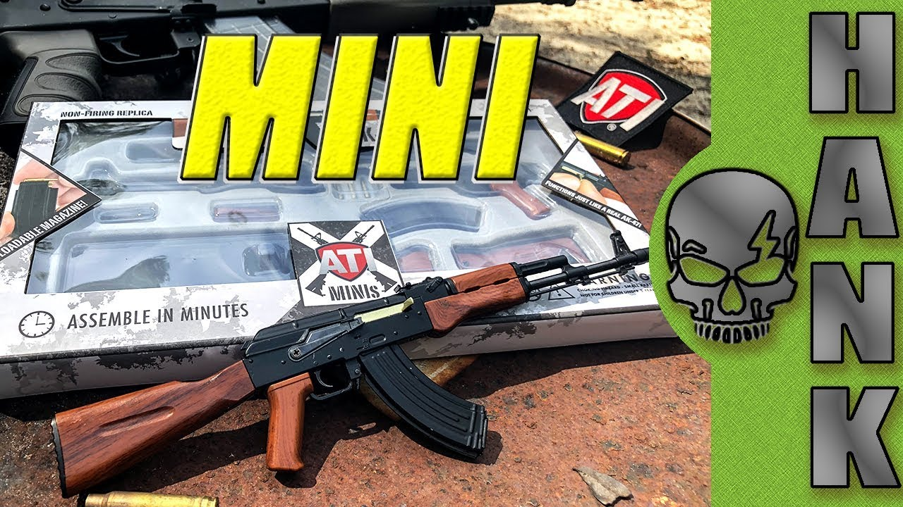 ATI Minis AK-47 Miniature Replica Gun In 3 Minutes or less