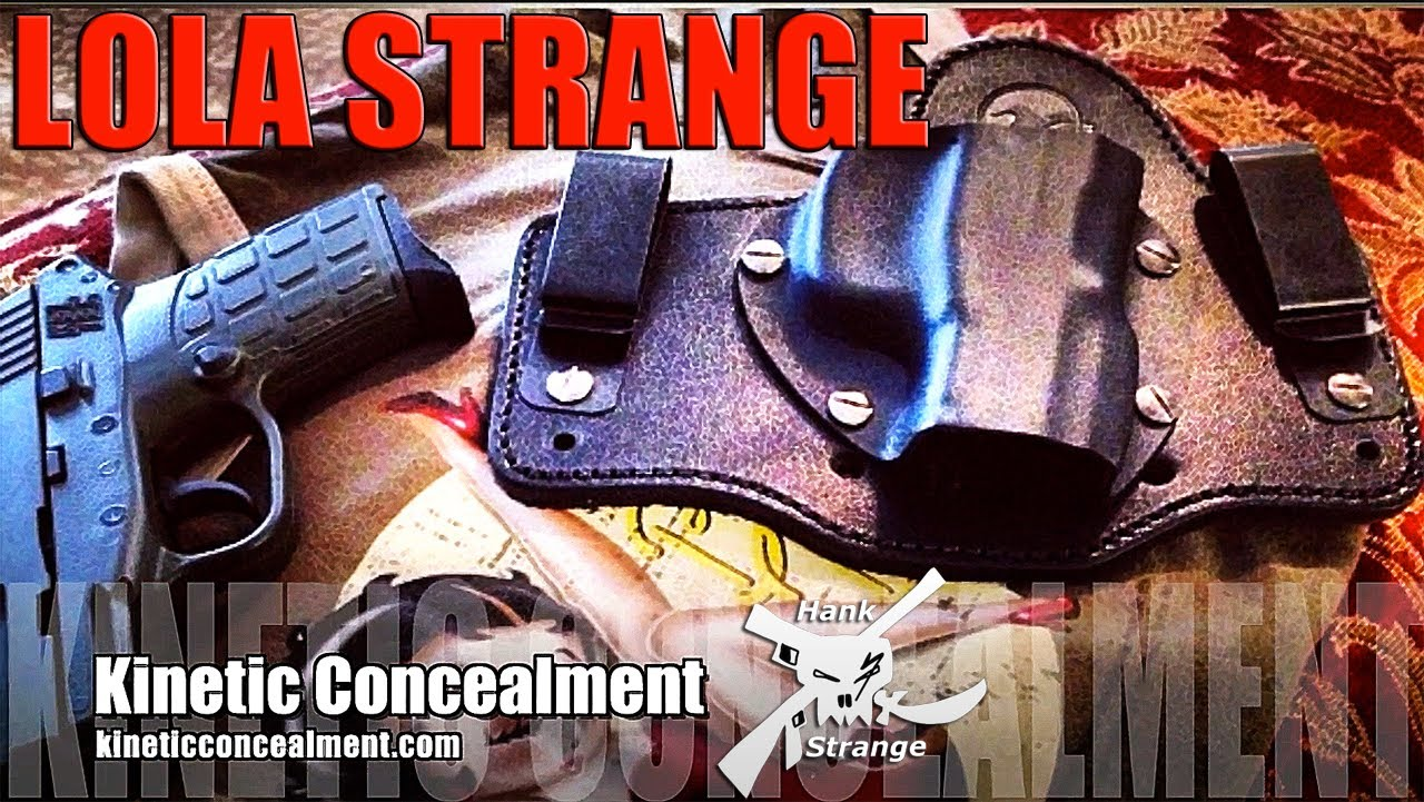 First Look at Kinetic Concealment Holster & Keltec PF9 Pistol Preview with Lola Strange