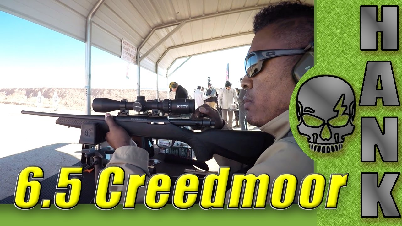 Compass 6.5 Creedmoor Bolt Action Rifle SHOT Show 2017