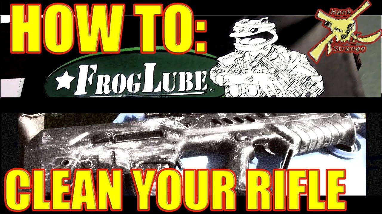 How To Apply Froglube To Firearm & Cleaning Tavor Bullpup Rifle After Best Mud Torture Test Pt.2