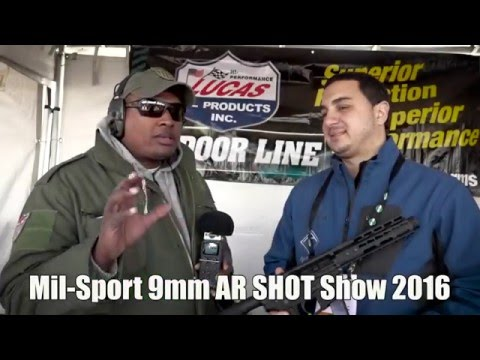 American Tactical Mil-Sport 9mm AR SHOT Show 2016
