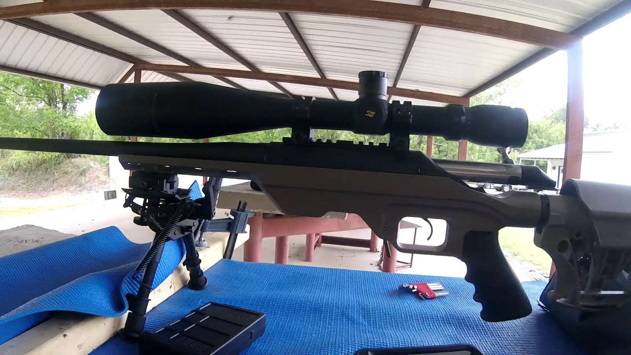 Creedmoor and Firefield bi pod at the range