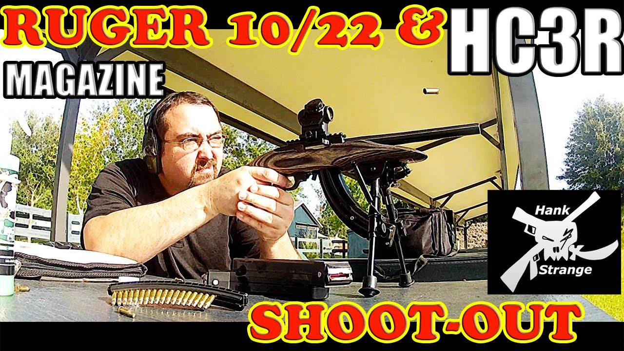 Shooting Ruger 22lr 10/22 Takedown & Charger Rifles HC3R Magazine Review