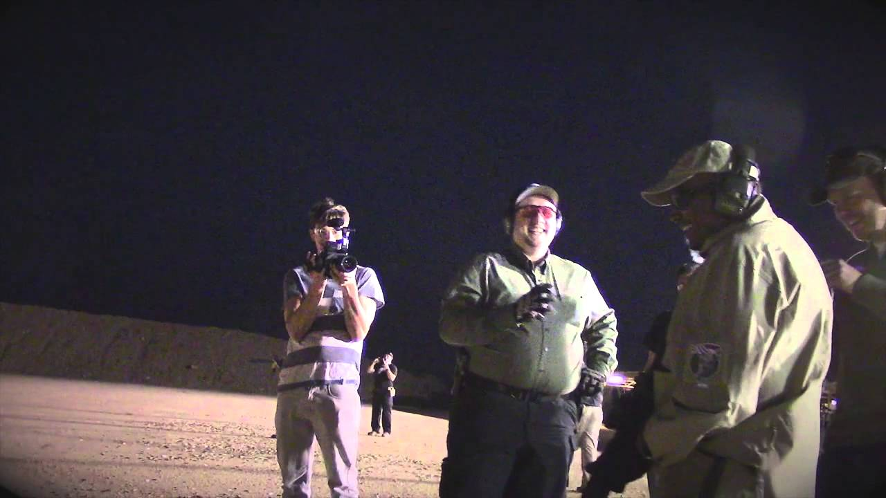 Night Shooting AR-15's Tac Con 3MR Trigger Arizona Desert