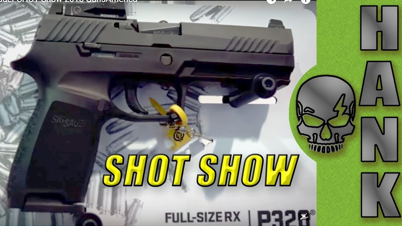 SIG P320: What's New from Sig Sauer SHOT Show 2016