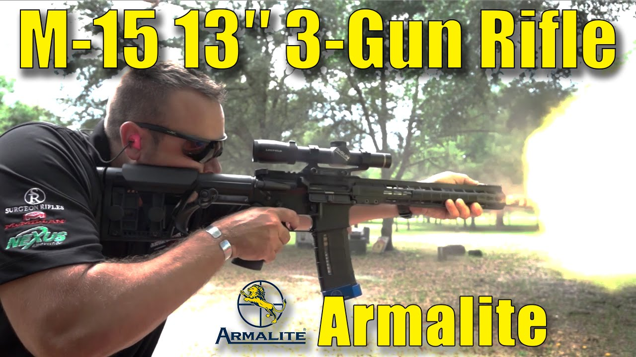 Armalite 3-Gun Rifle Preview