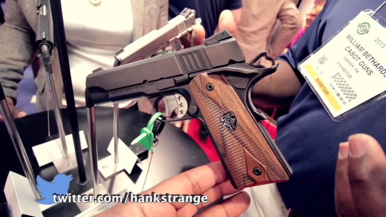 Cabot Guns S Class 1911 Lineup SHOT Show 2015