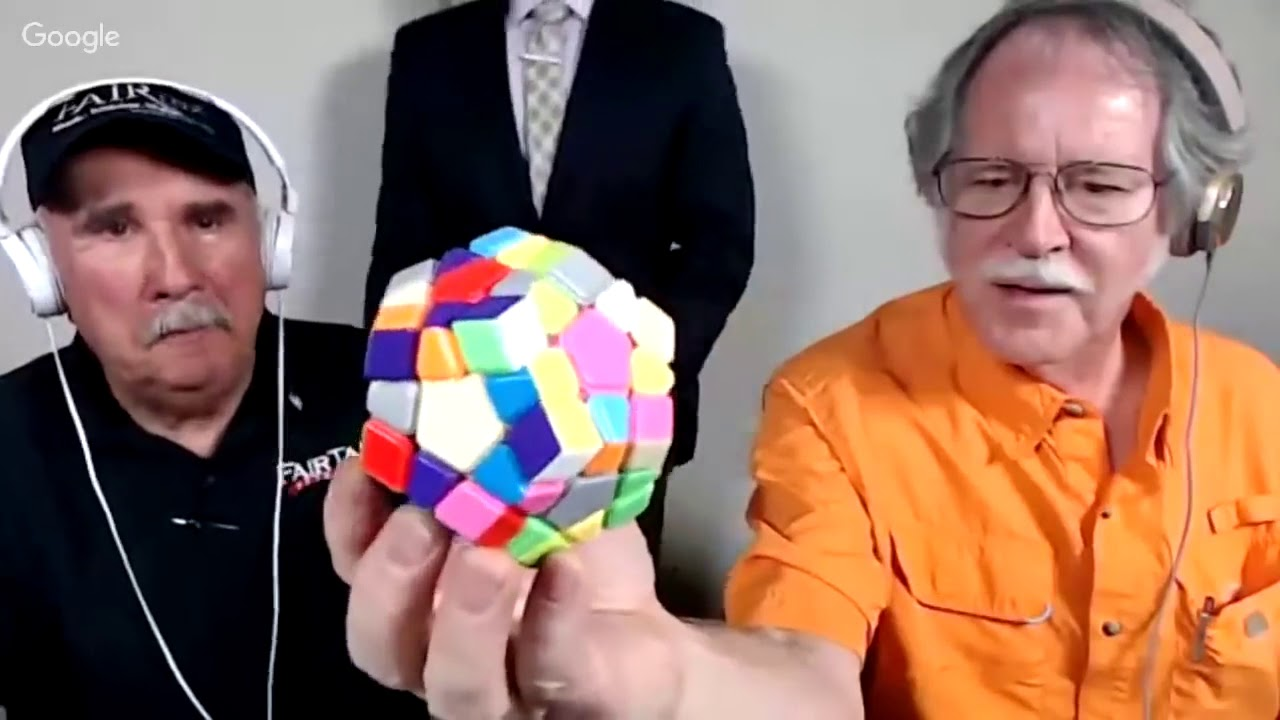 FairTax Guy Solves Rubik's Cube Megaminx in 7 Minutes