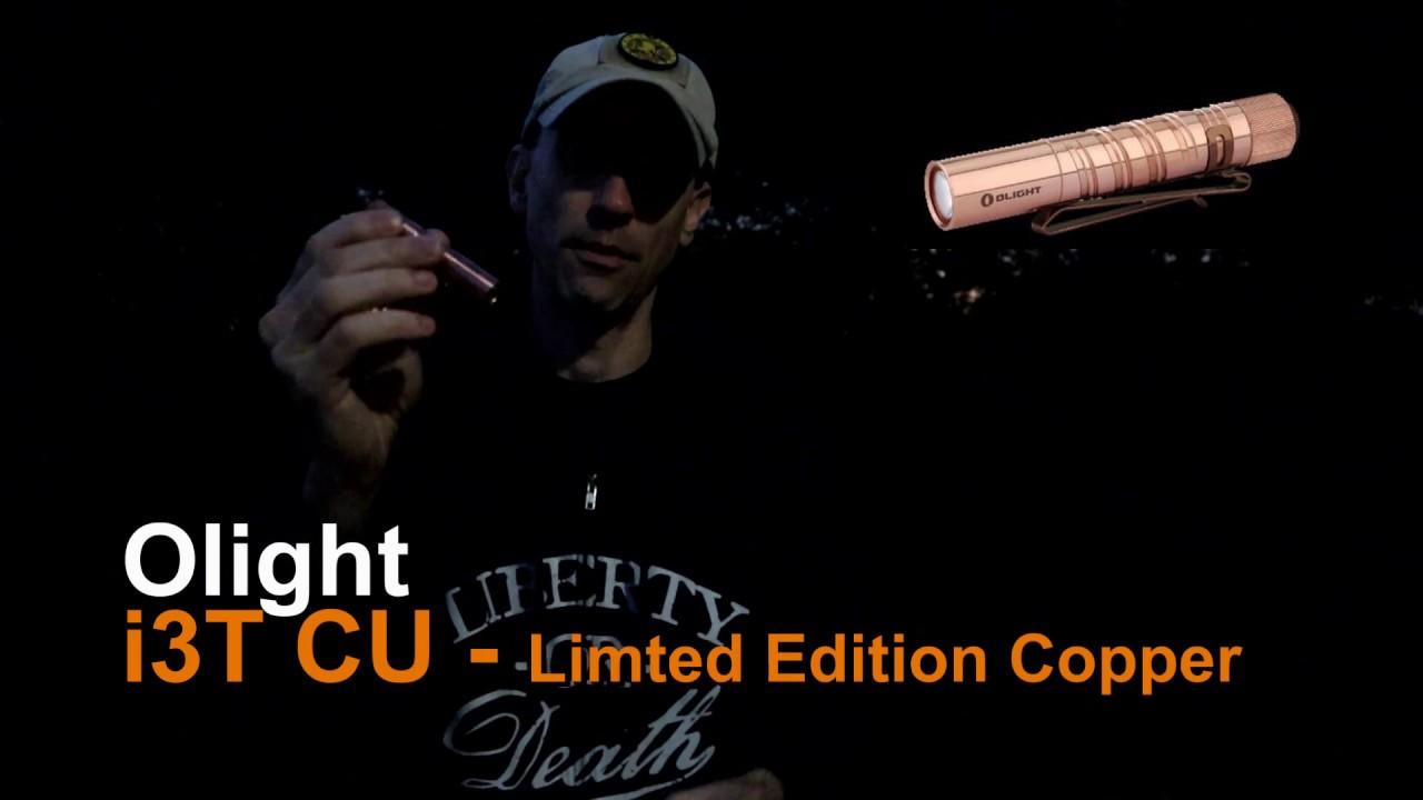 Flash Sale Limited Edition I3T CU Copper Olight 1-3pm