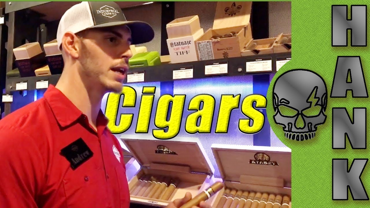 Inside The Vault at Industrial Cigar Company