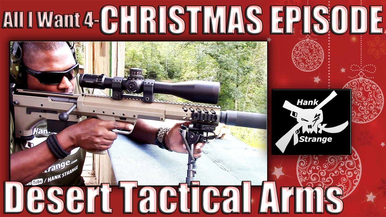 All I Want for Christmas is you Desert Tactical Arms HTI Sniper Rifle 2013 Bullpup Shoot Kentucky