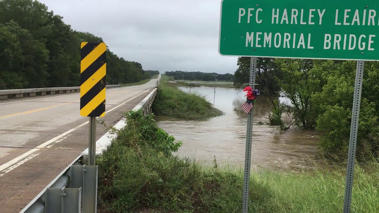 Flooding a few miles from my home and the loss of a herd of cattle